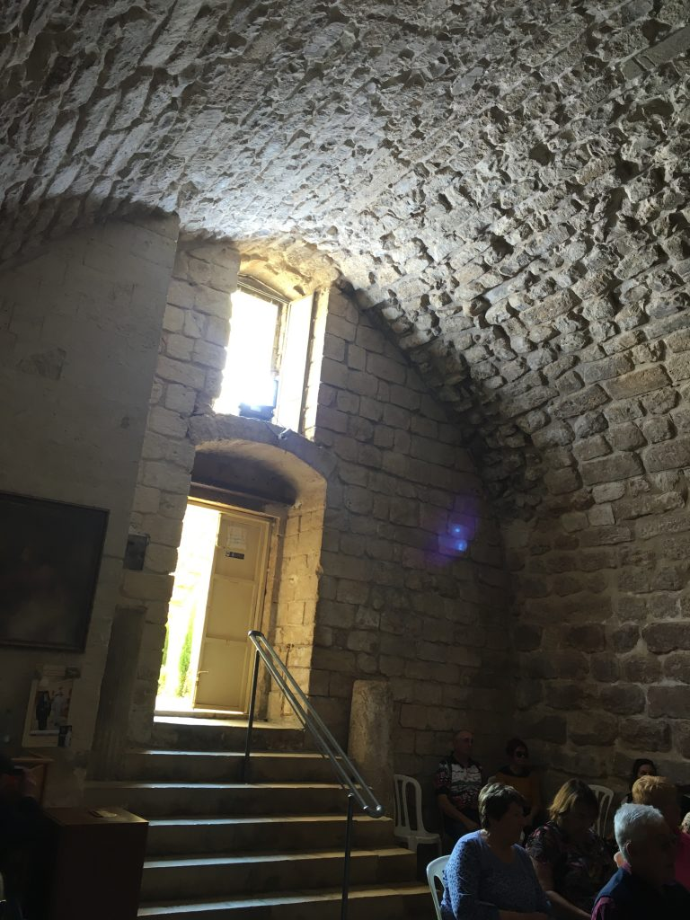 Synagogue de Nazareth où Jesus s'est rendu